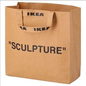 Virgil Abloh for IKEA shopping bag tote